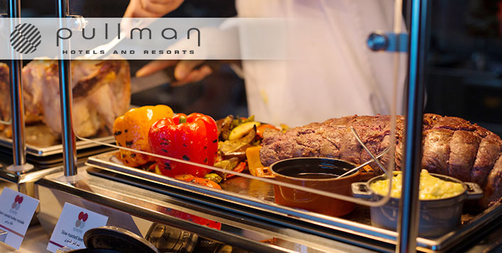 Lunch or Dinner Buffet w/ Drinks @Pullman JLT