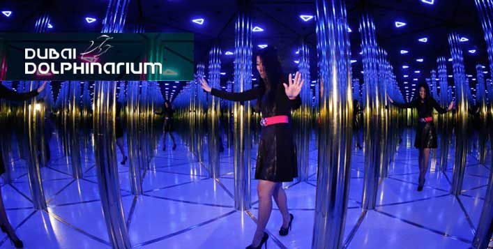 Mirror Maze entry for 2, 4 or 6 adults