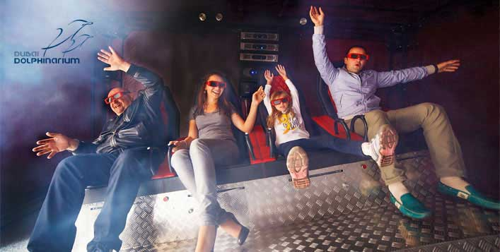 5D or 7D Cinema Experience for up to 4 People