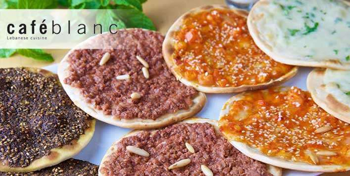 Authentic Lebanese food for 1 or 2 people