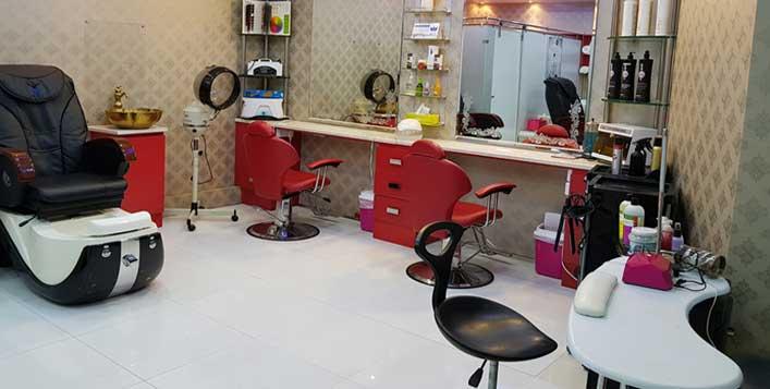 Blow dry, mani-pedi @ Cloud Nine Beauty Salon