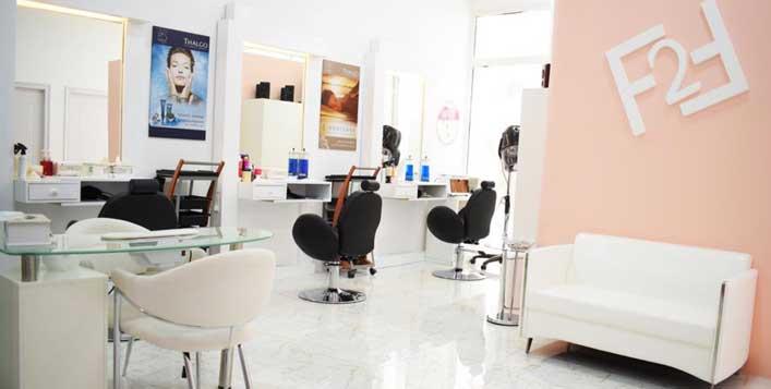 Haircut, wash, blow dry & more