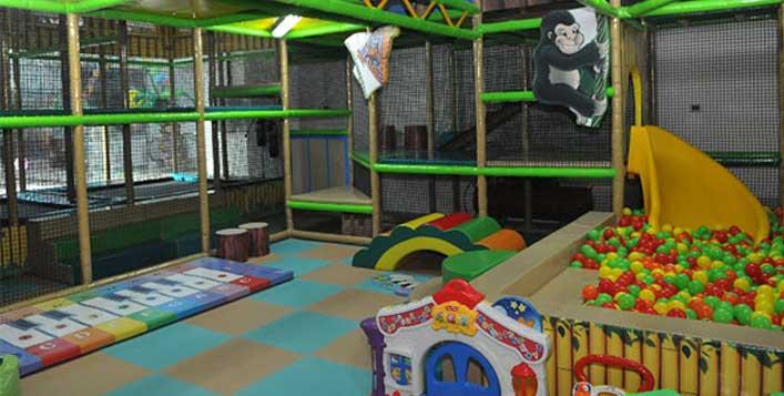 Play area access, laser fun, juice & fries