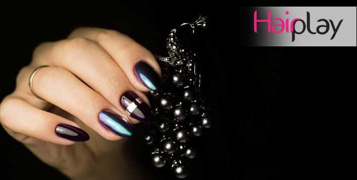 Products CND Shellac or CND Vinylux used