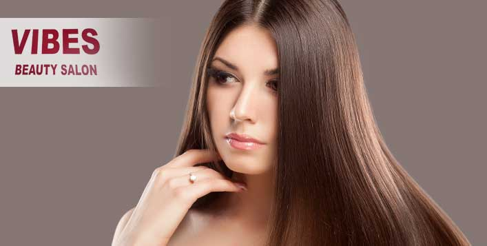 Valid daily at Vibes Beauty Salon