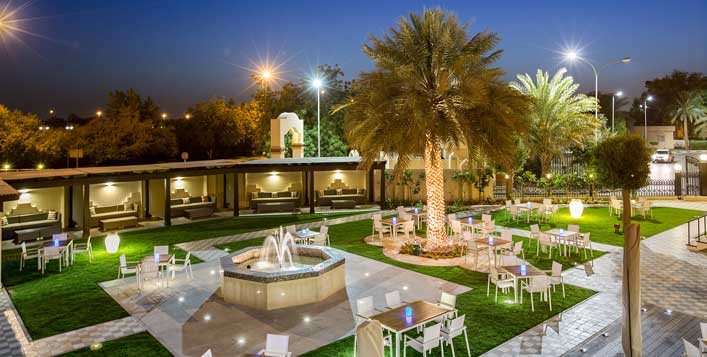 1 or 2 night stay at Danat Al Ain Resort