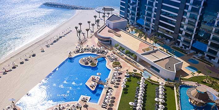 Enjoy a breathtaking view of the Dubai Marina