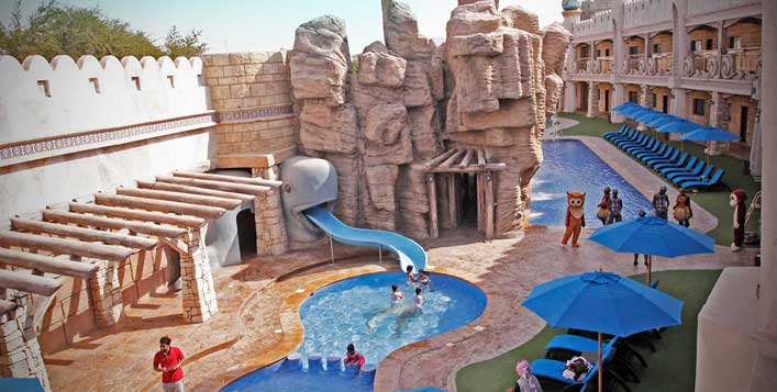 Emirates Park Resort Stay with Zoo Tickets