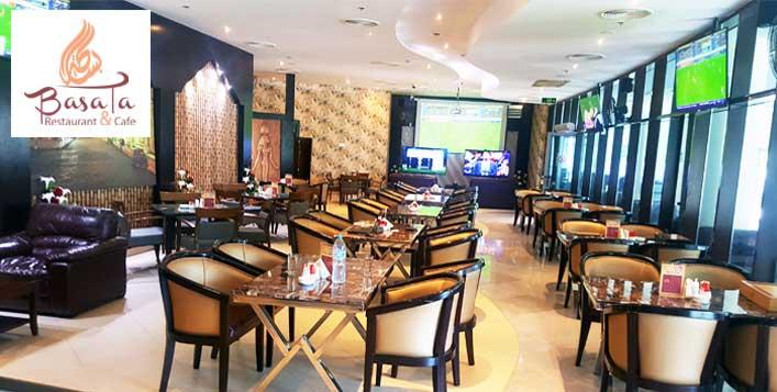 Basata Restaurant & Café Value Voucher
