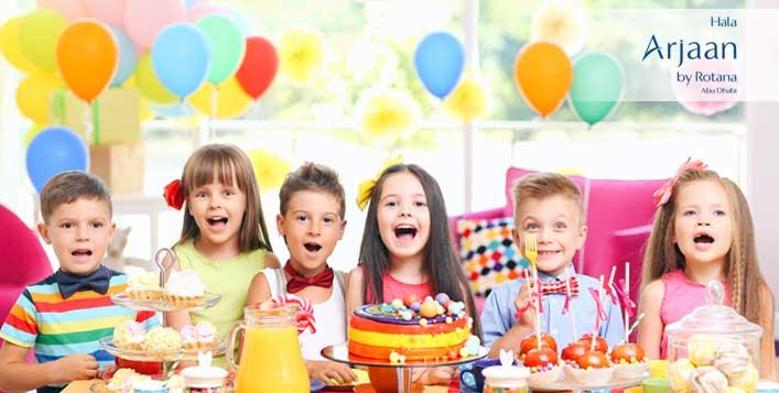 Kids' Party Buffet at Hala Arjaan by Rotana