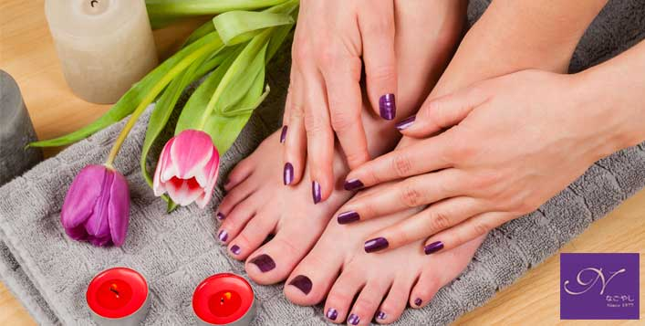 Gelish Mani-Pedi+Keratin Treatment @ Nagoya