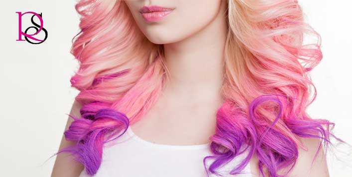 Choose ombre, highlights or crazy colour!