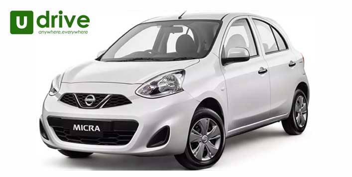 Car hire up to 1 month at U Drive Rent A Car