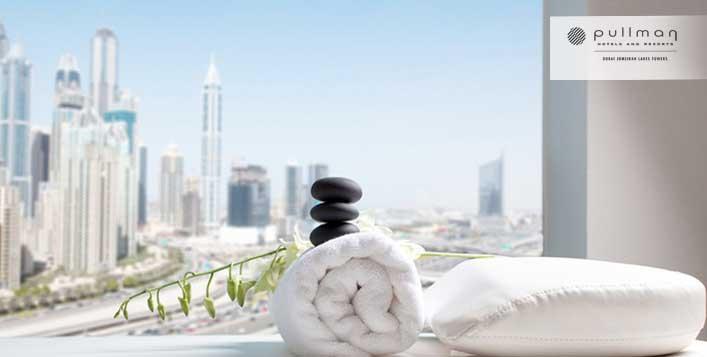 Relax at Pullman Dubai Jumeirah Lakes Towers