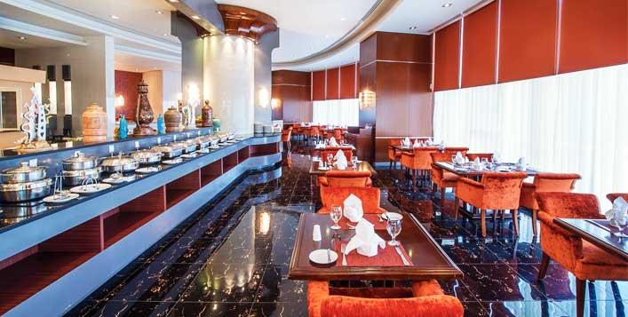 Buffet breakfast + Musandam cruise included