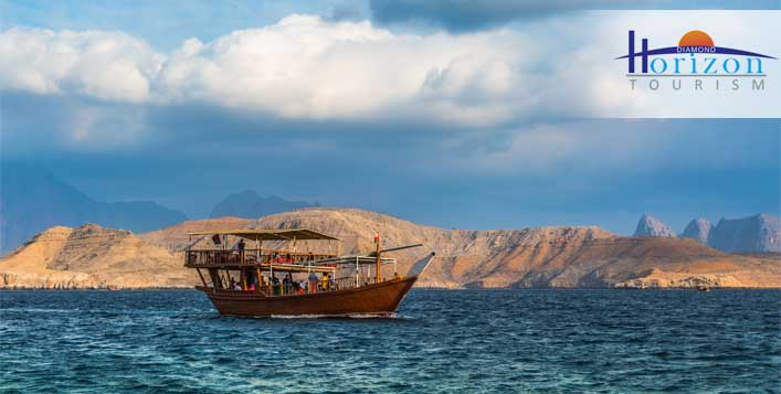 Buffet breakfast + Musandam cruise included