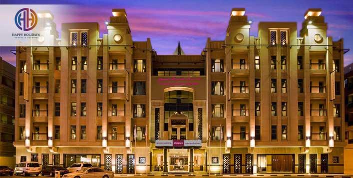 Staycation at Mercure Gold, Dubai