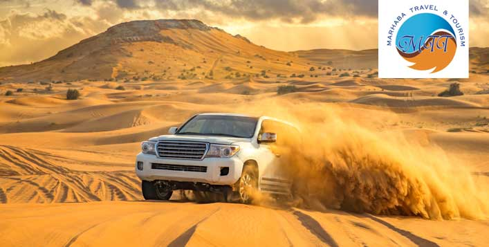 Evening Desert Safari with BBQ Dinner Buffet