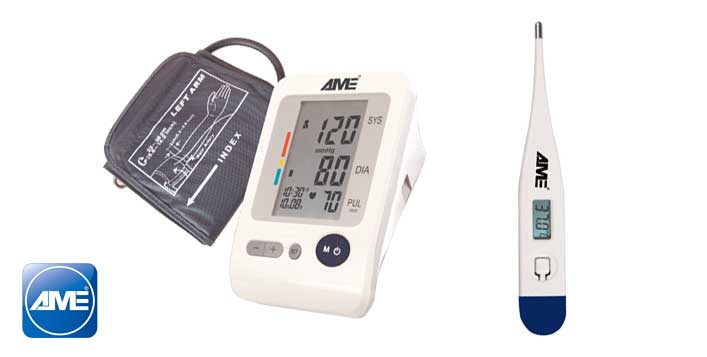 AME BP Monitor + Digital Thermometer