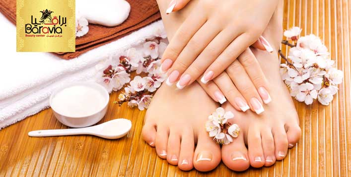 Mani-Pedi Packages at Baravia Beauty Center