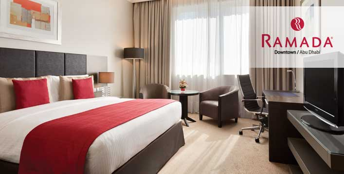 1 or 2 Night Stay @Ramada Downtown Abu Dhabi
