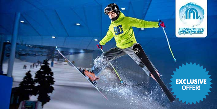 Ski Dubai Learn to Ski in a Day Package