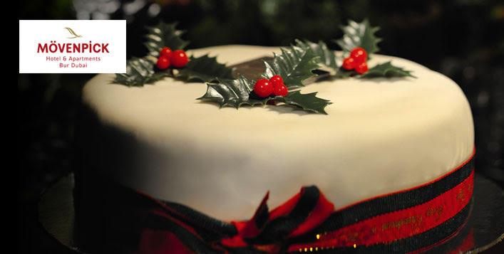 One Kg. Christmas Cake from Mövenpick