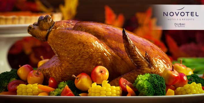 Thanksgiving Dinner @ Novotel Al Barsha Hotel