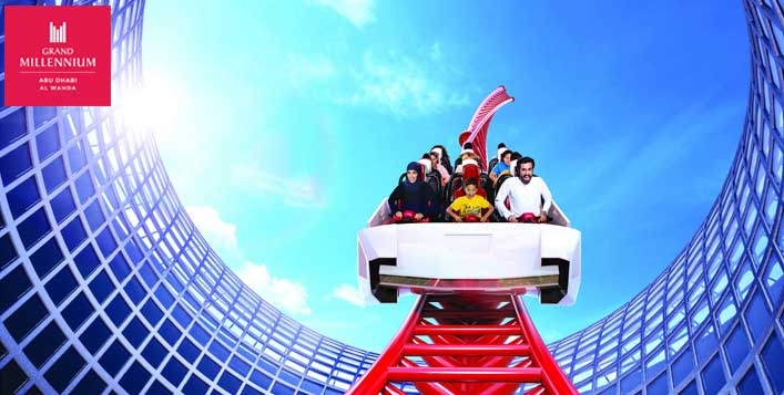Unlimited fun@Ferrari World or Yas Waterworld