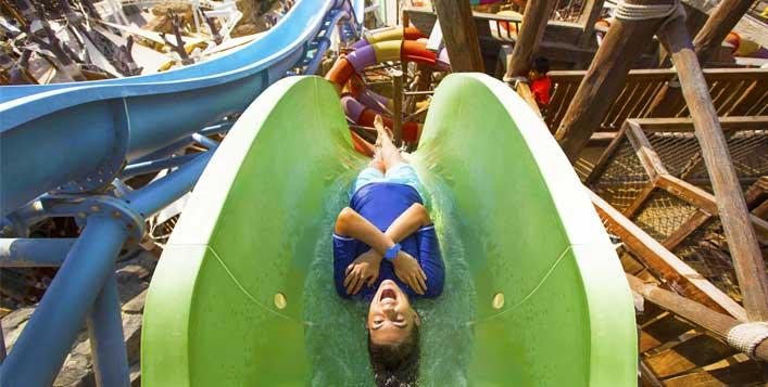 Unlimited fun@Ferrari World or Yas Waterworld