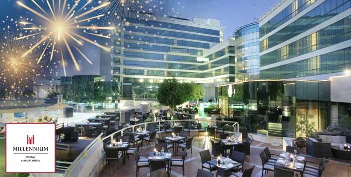 3 restaurants in Millennium Airport Hotel