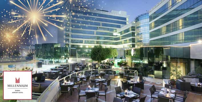 3 restaurants in Millennium Airport Hotel