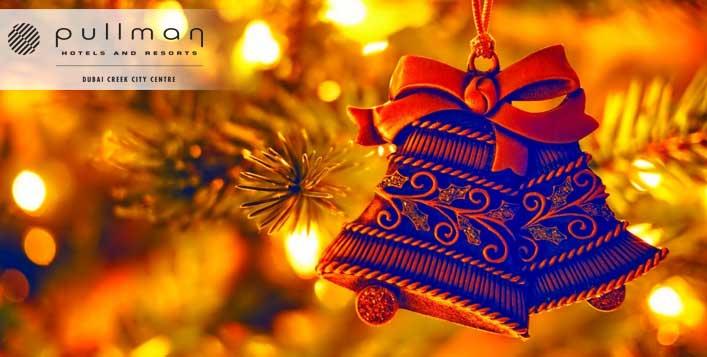 بوفيه عشاء ليلة عيد الميلاد في مطعم ميدلي