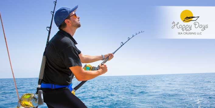 Shared or private fishing for up to 9 people