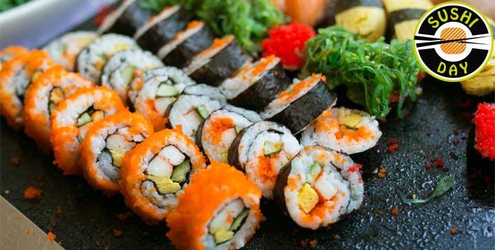 Japanese Combo at Sushi Day Restaurant