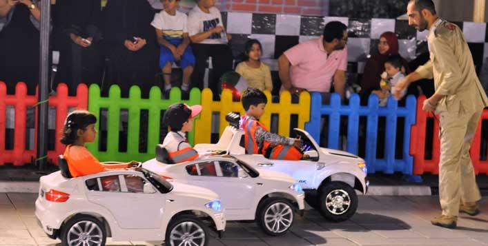 Fun at UAE's first mini driving school