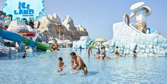 Adventurous thrill at Ice Land Water Park,RAK