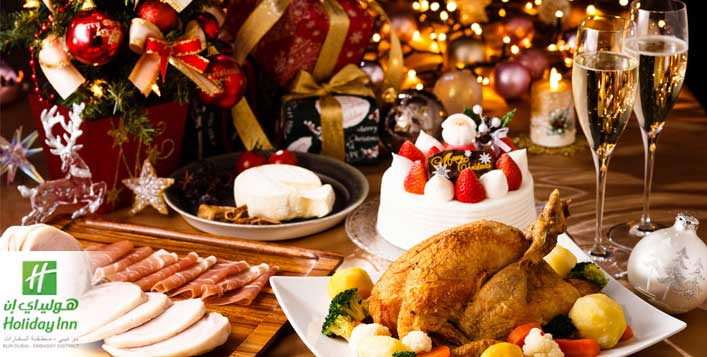 Christmas Buffet Brunch or Dinner@Holiday Inn