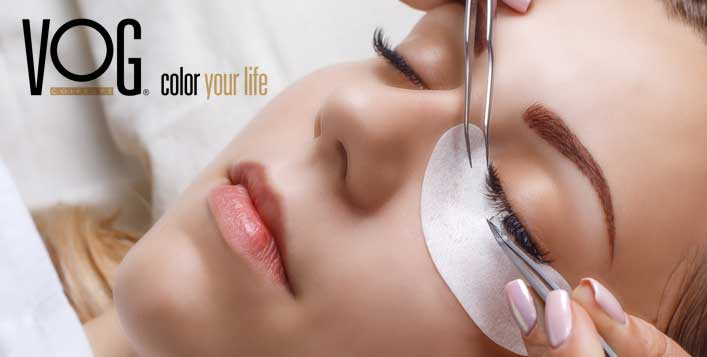 With optional makeup at VOG Color Your Life