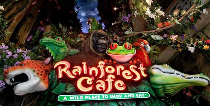 Rainforest Cafe, The Dubai Mall
