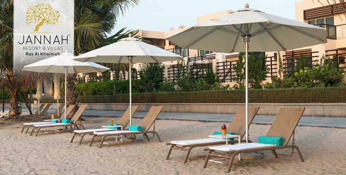 Stay Packages at Jannah Resort & Villas RAK