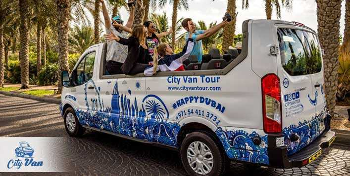 Private Open Van Dubai Tour