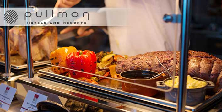 5* Lunch Buffet @Pullman Dubai JLT