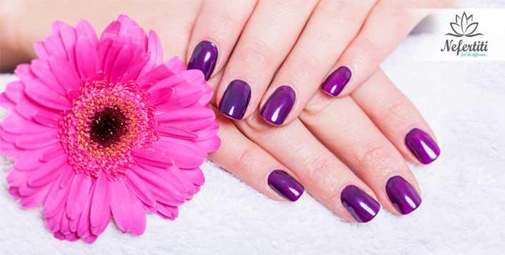 5* Manicure and pedicure at Nefertiti Salon
