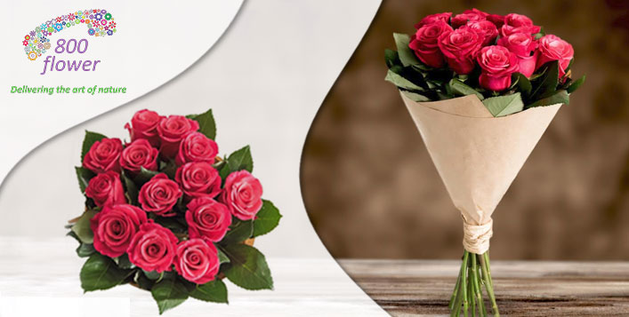 Fresh and beautiful selection of flowers