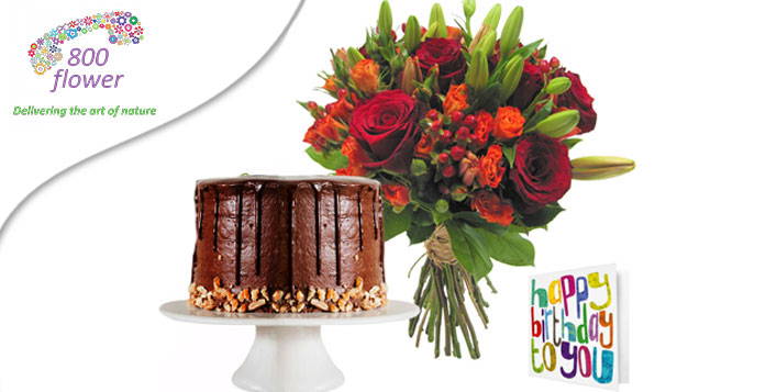 Includes a Chocolate Fudge cake good for 12!