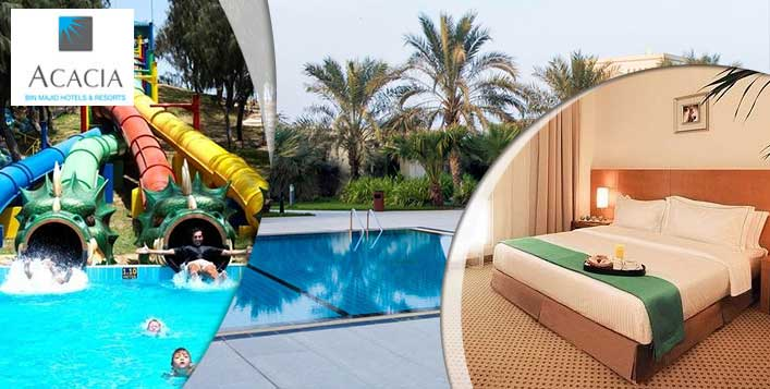 RAK Acacia Hotel Stay + Dreamland Tickets