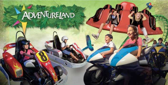 Unlimited Adventureland Passes for 2-Hours