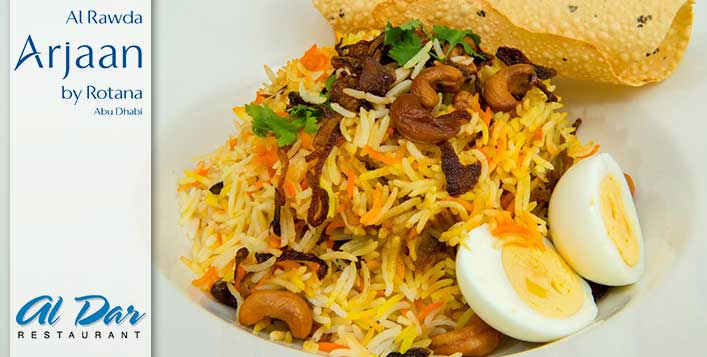 Combo Meal at Al Dar Restaurant