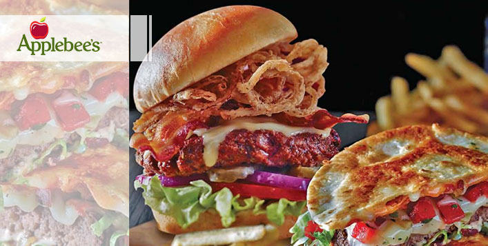 All American Burger Combo at Applebee's®